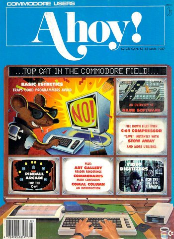 Ahoy! Issue 039 March 1987