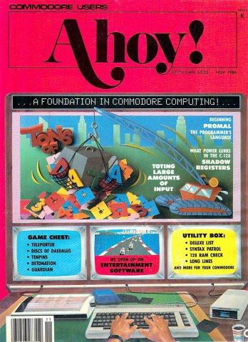 Ahoy! Issue 035 November 1986