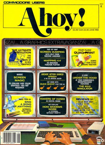 Ahoy! Issue 018 June 1985