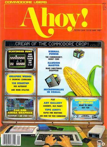 Ahoy! Issue 041 May 1987