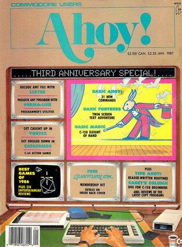 Ahoy! Issue 037 January 1987