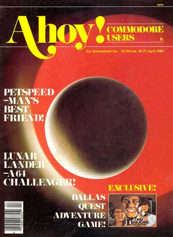 Ahoy! Issue 004 April 1984