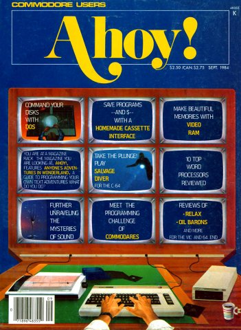 Ahoy! Issue 009 September 1984