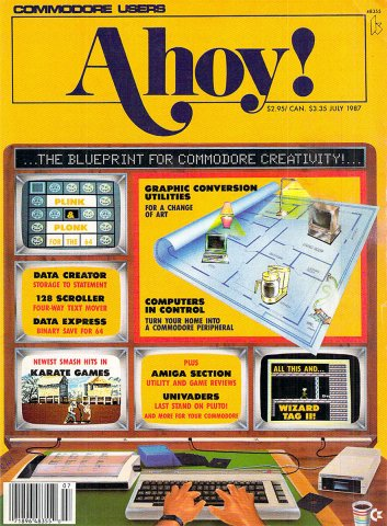 Ahoy! Issue 043 July 1987