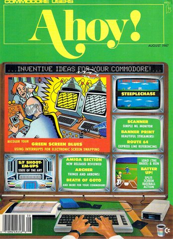 Ahoy! Issue 044 August 1987