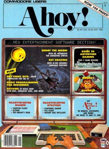 Ahoy! Issue 023 November 1985