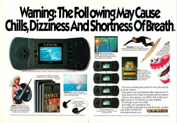 Atari Lynx multi-ad (1990)