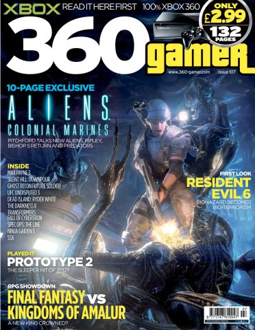 360 Gamer Issue 107
