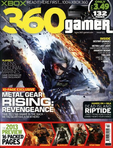 360 Gamer Issue 122