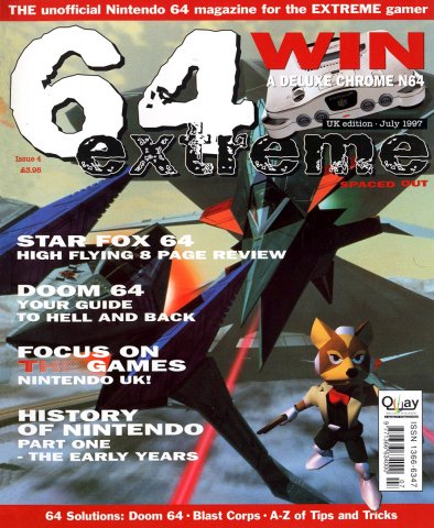 64 Extreme Issue 04 (July 1997)