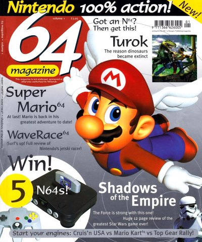 64 Magazine Issue 01 (March/April 1997)