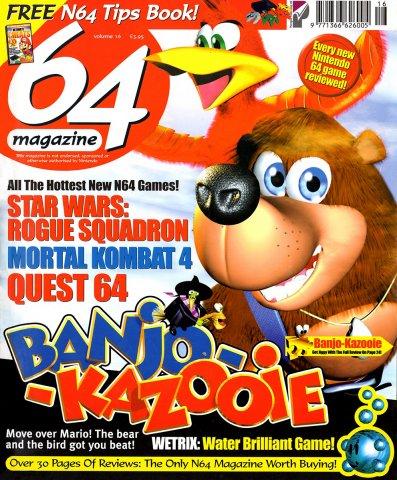64 Magazine Issue 16 (September 1998)