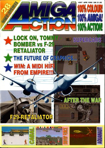 Amiga Action 007 (April 1990)