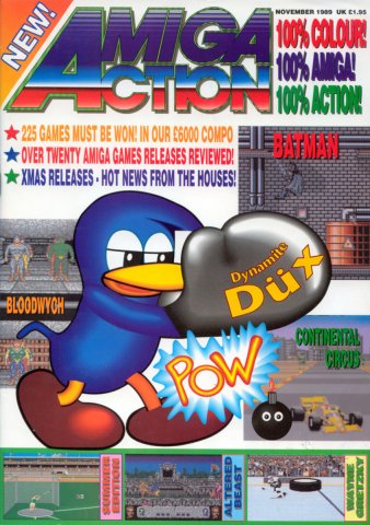 Amiga Action 002 (November 1989)