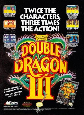 Double Dragon III (1991)