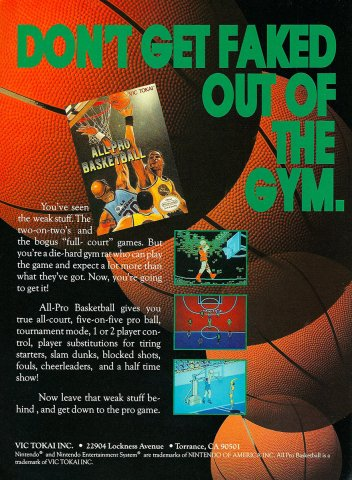 All Pro Basketball (1989)