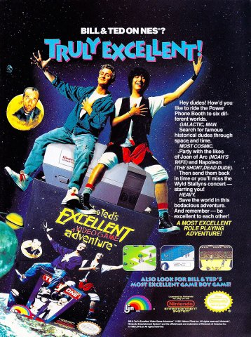 Bill & Ted's Excellent Video Game Adventure (1991)