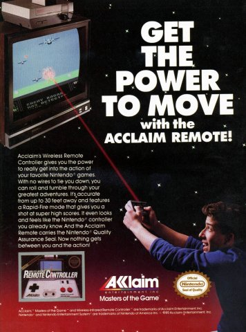 Acclaim Wireless Remote Controller (1989)