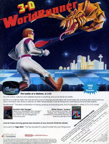 3D World Runner (1987)