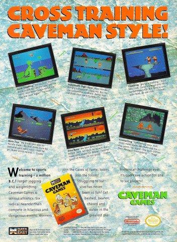 Caveman Games (1990)