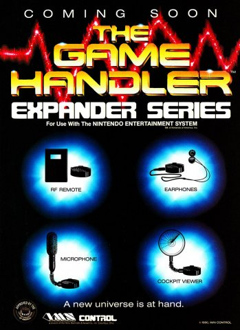 Game Handler Expansion Series (1990)