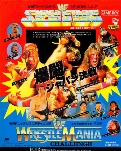 WWF Wrestlemania Challenge (Japan)