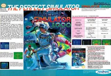 Baseball Simulator 1.000 (1990)
