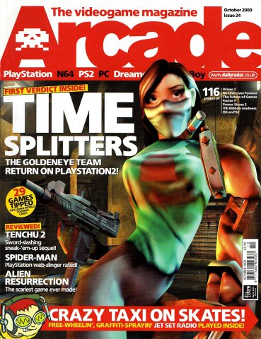 Arcade Issue 24 (October 2000)