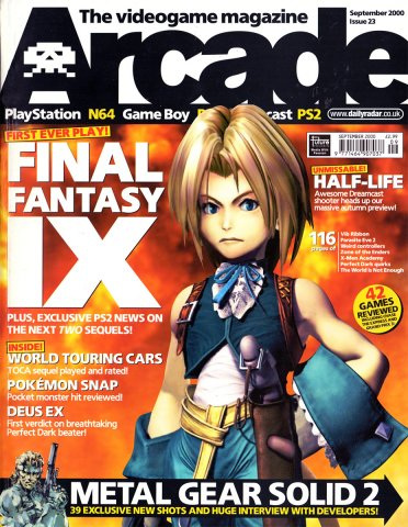 Arcade Issue 23 (September 2000)