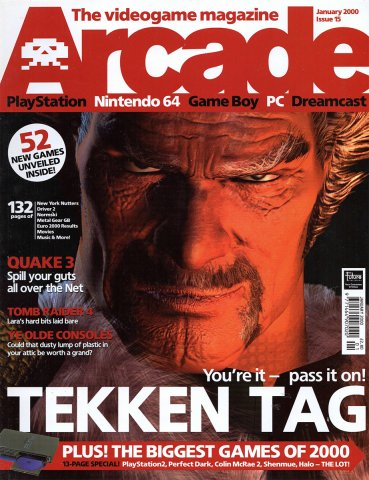 Arcade Issue 15 (January 2000)