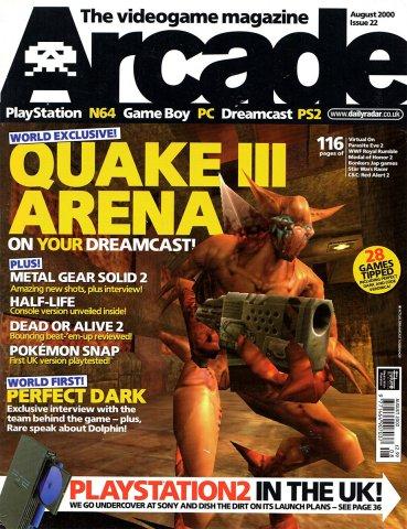 Arcade Issue 22 (August 2000)