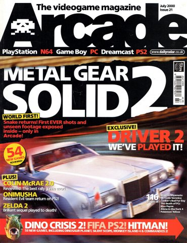 Arcade Issue 21 (July 2000)
