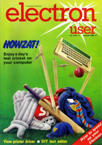 Electron User Issue 035 August 1986