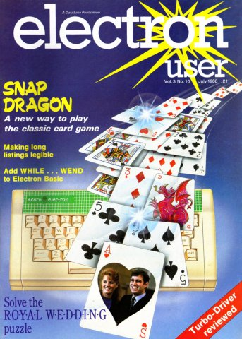 Electron User Issue 034 July 1986