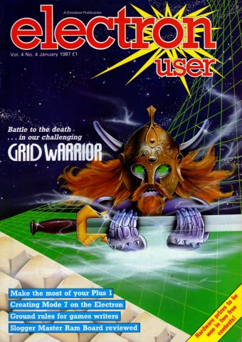 Electron User Issue 040 January 1987