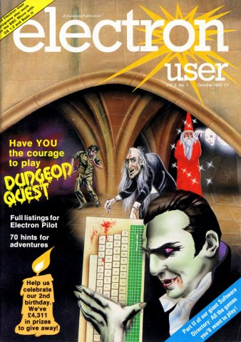 Electron User Issue 025 October 1985