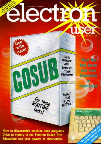 Electron User Issue 021 June 1985