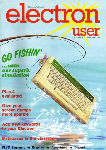Electron User Issue 033 June 1986