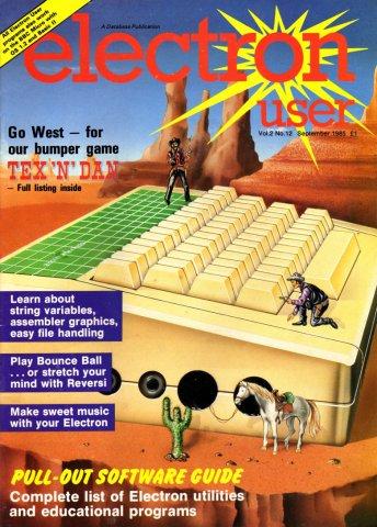 Electron User Issue 024 September 1985