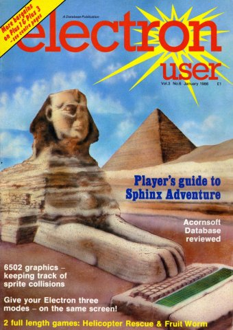 Electron User Issue 028 January 1986