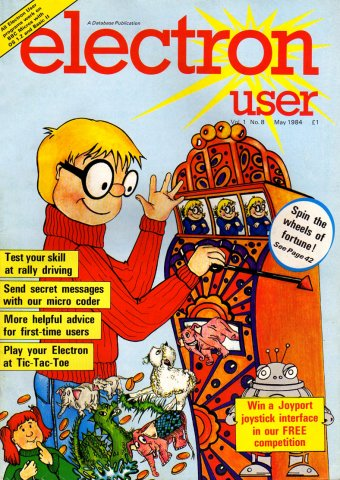 Electron User Issue 008 May 1984