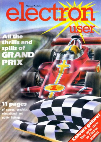 Electron User Issue 030 March 1986