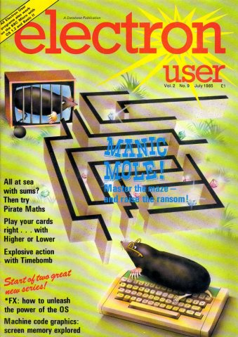 Electron User Issue 022 July 1985