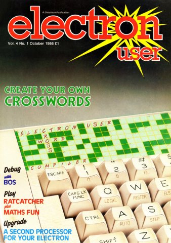 Electron User Issue 037 October 1986