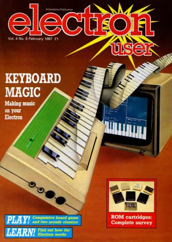 Electron User Issue 041 February 1987