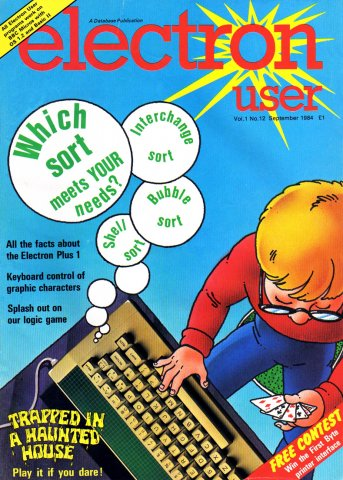 Electron User Issue 012 September 1984