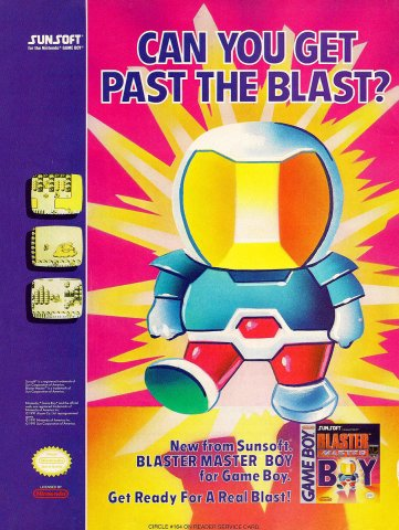 Blaster Master Boy (1991)