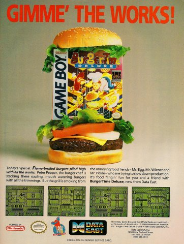 Burger Time Deluxe (1991)