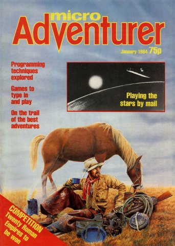 Micro Adventurer Issue 03 January 1984