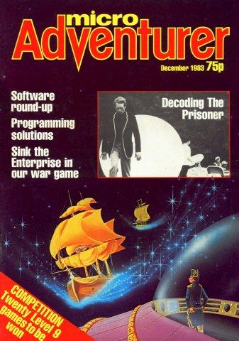 Micro Adventurer Issue 02 December 1983